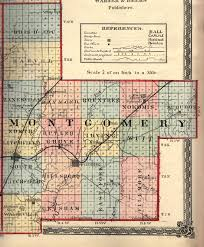 Illinois Map by Montgomery County Illinois Maps And Gazetteers