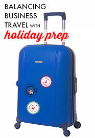 business travel during the holidays plus all that other regular