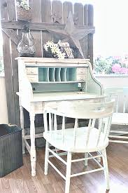 Furniture Secretary Desk Refinished Furniture And Farmhouse Decor Shop One More Time Events