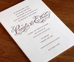 formal wedding invitation wording how to choose the best wedding invitations wording madailylife
