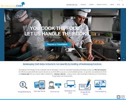 bookkeeping chef web design case study vab media