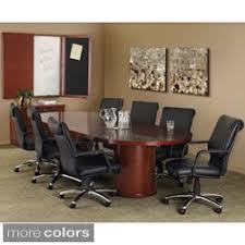 Racetrack Boardroom Table Regancy Seating 120 Inch Race Track Conference Table With Power