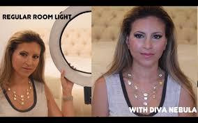 diva ring light nova new ring light for beauty videos review of diva ring light nebula