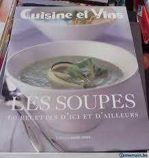 cuisines et vins de cuisine et vins de les soupes a vendre 2ememain be