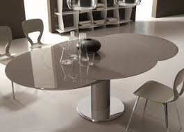 Expandable Dining Room Tables Modern Table Round Extendable Kitchen Table Brilliant Models Extendable