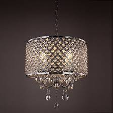 Chandeliers With Shades And Crystals by Mirrea Crystal Chandelier Pendant Light 4 Lights With Crystal