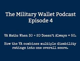 veterans compensation benefits rate tables effective 12 1 17 va math how combined va disability ratings are calculated