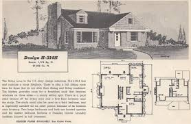 1950s homes vintage house plans 314h antique alter ego