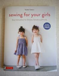book review u2013 sewing for your girls sewing recipe in english