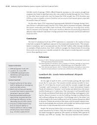 airport case studies addressing significant weather impacts on