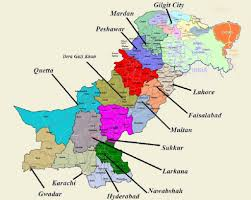 Punjab Map Map Of Punjab Pakistan City Wise Image Gallery Hcpr