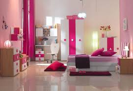 bedroom pretty pink and purple childrens bedroom color
