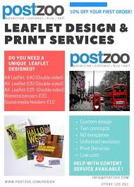 flyer design cost uk postzoo com free classified adverts uk leaflet and flyer design