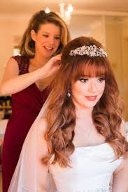 rustic u0026 whimsical autumn halloween wedding red hair and bangs