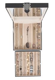 jewelry box necklace holder images Necklace holder jewelry box organizer 12 section glenor co jpg