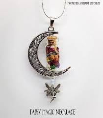 fairy jewelry necklace images Fairy magic enchanted necklace jpg