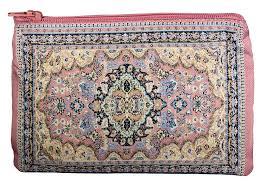 Oriental Rug Design Women U0027s Pink Coin Purse Wallet Purses With Zipper New