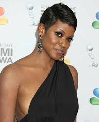 short hair for black women with round faces hairstyle picture magz