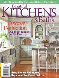 habersham custom kitchen cabinetry habersham home lifestyle beautiful kitchens and baths magazine cover featuring habersham