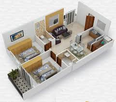 2 Bhk Home Design Plans by Collection Best 3d Home Design Photos Million Latest Home Decor