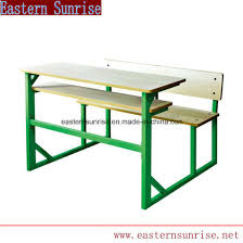 student desk and chair china cheap primary metal furniture double student desk chair