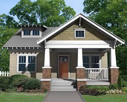 charming craftsman bungalow with deep front porch 50103ph