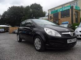 used black vauxhall corsa for sale devon