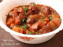 beef stew fauzia u0027s kitchen fun