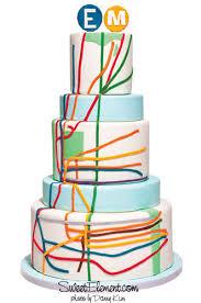 wedding cake ny 9 inspiring new york city cakes on craftsy subway map cake and