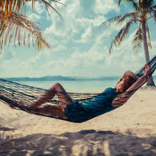 portable hammock travel backpack camping outdoor net mesh nylon