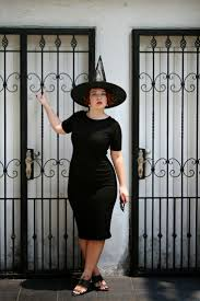 the belted pear easy halloween costume little black dress