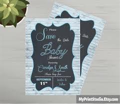 save the date baby shower card template made in ms word youtube