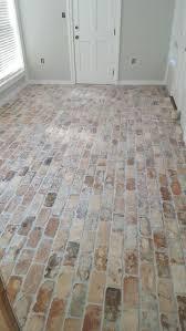 cabinet kitchens with brick floors best brick floor kitchen