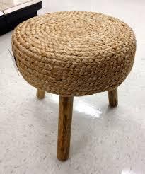 seagrass ottoman ideas editeestrela design