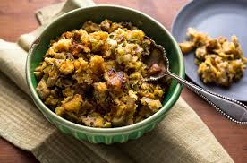 how do you make dressing for thanksgiving stuffing with mushrooms leeks and bacon recipe nyt cooking