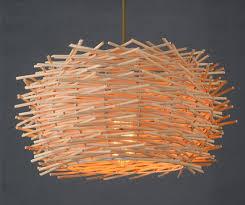 Bamboo Ceiling Light Mini Globe Metal Bamboo Pendant Ceiling Light Chopsticks Hanging