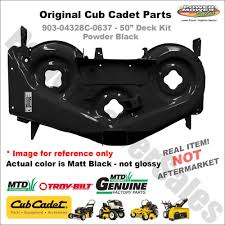 cub cadet mowing deck parts deks decoration