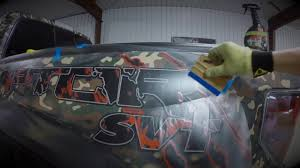 Ford Raptor Truck Wraps - ford raptor full camo vinyl wrap start to finish