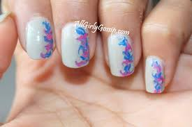 dry marble nail art notd how to get marble nails without water