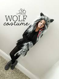 10 Easy Halloween Costumes 3d 25 Kids Wolf Costume Ideas Werewolf Costume