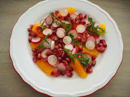 defi cuisine saveurs franco polonaises salade multicolore de radis oranges et