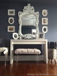 vanity table for living room absolutely love this looks like many of the pieces can be found at