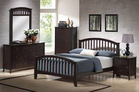 Queen Bedroom Sets Acme San Marino Queen Slat Bedroom Set In Espresso