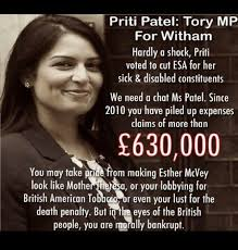 Patel Meme - tom newton dunn on twitter breaking priti patel has admitted to