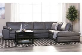 2 Piece Leather Sofa by Vaughn 2 Piece Sectional W Raf Chaise Living Spaces