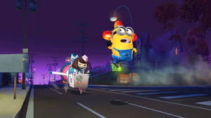 despicable me 2 minion rush bee do minion vs meena in
