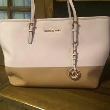 light brown mk purse light pink and brown michael kors purse michael kors purses pale