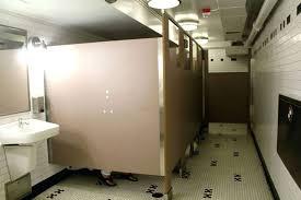 Bathroom Stall Doors Dimensions Of A Bathroom Stall