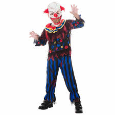 scary clown costumes scary clown child costume walmart