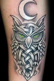 43 nice celtic owl tattoo designs and ideas golfian com
